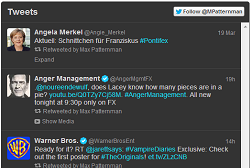 Twitter Timeline einbinden