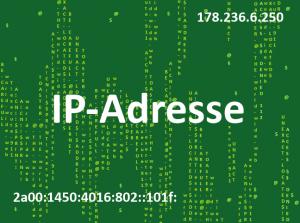 IP-Adresse ermitteln