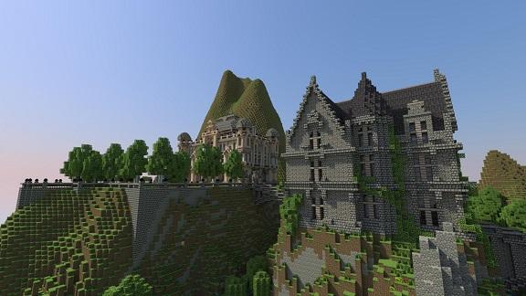 Minecraft Landhaus