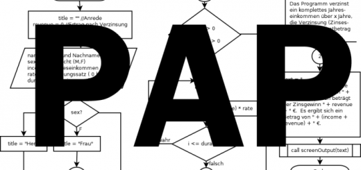 Programmablaufplan PAP