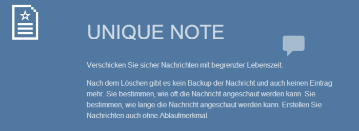 uniquenote.de