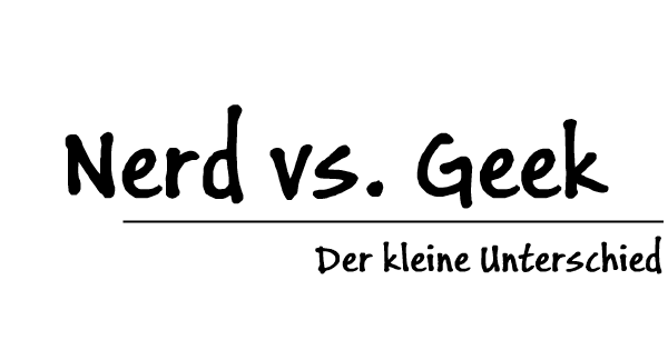 Nerd vs Geek