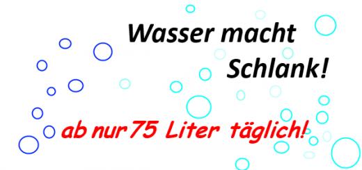 Wasser macht schlank?